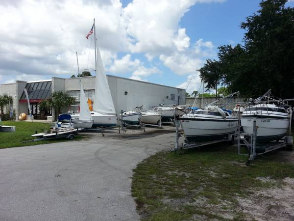 WE NEED YOUR CLEAN PRE-OWNED SAILBOATS on TRAILER Charlotte Harbor Sails