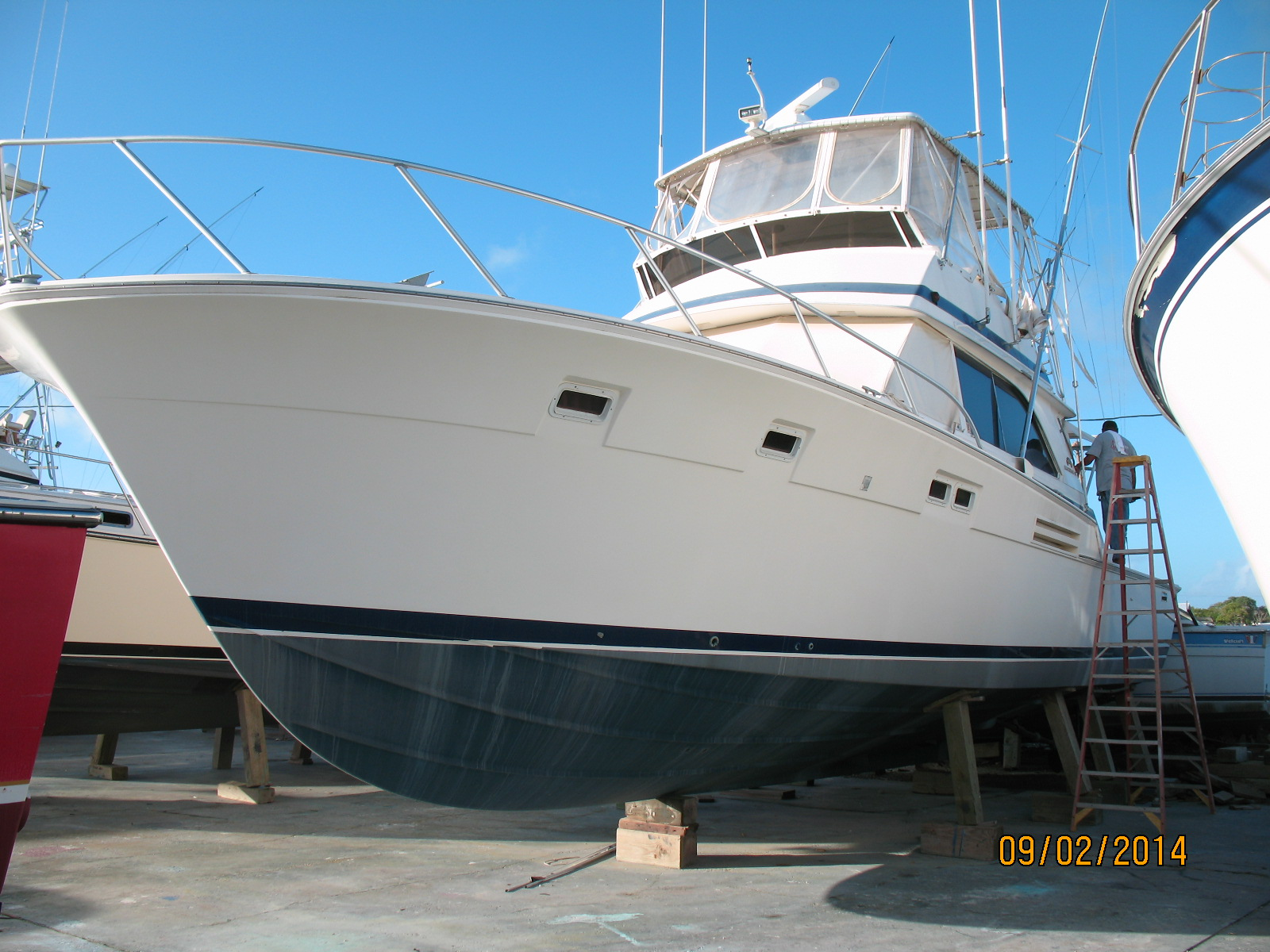 1985 Bertram In Texas On Ebay Auction Boat Classifieds