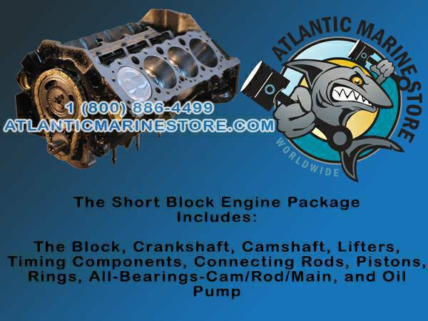 New and Re manufactured Marine engines  1-800-886-4499   Atlantic Marine