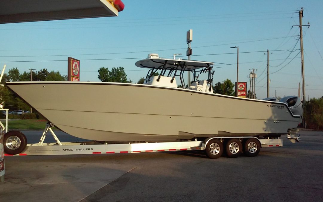 Marine transport /Boat hauling, done right !   954-501-9350
