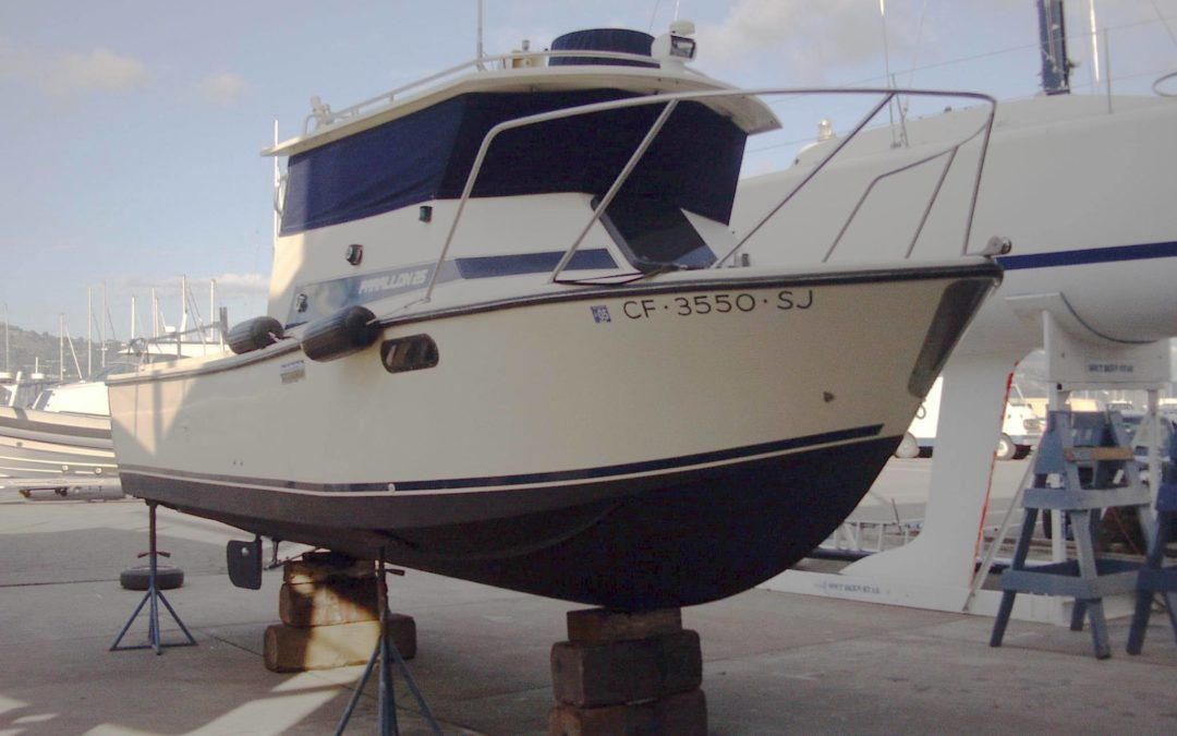 1991 Farallon 25′ Whale Back Fishing Business w/1991 25′ Farallon Commercial 6 Pac Charter Fishing M