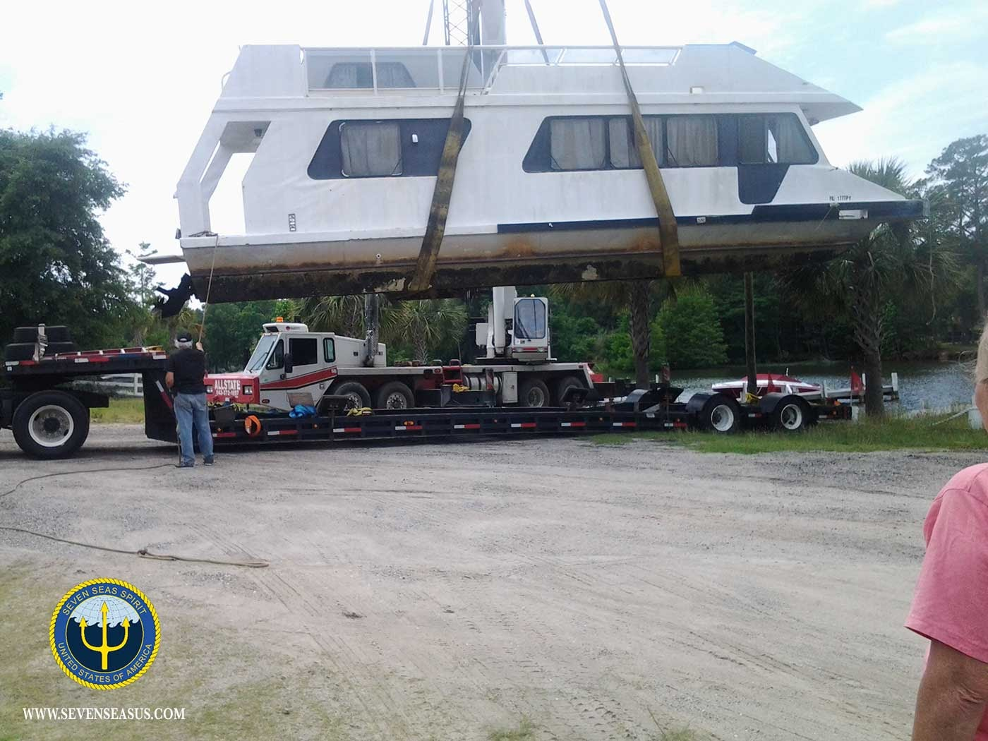 HOUSEBOAT TRANSPORT SERVICES by SEVEN SEAS YACHT TRANSPORT ...