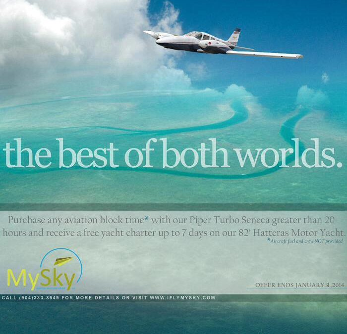FLY TO THE BAHAMAS AND ENJOY!
