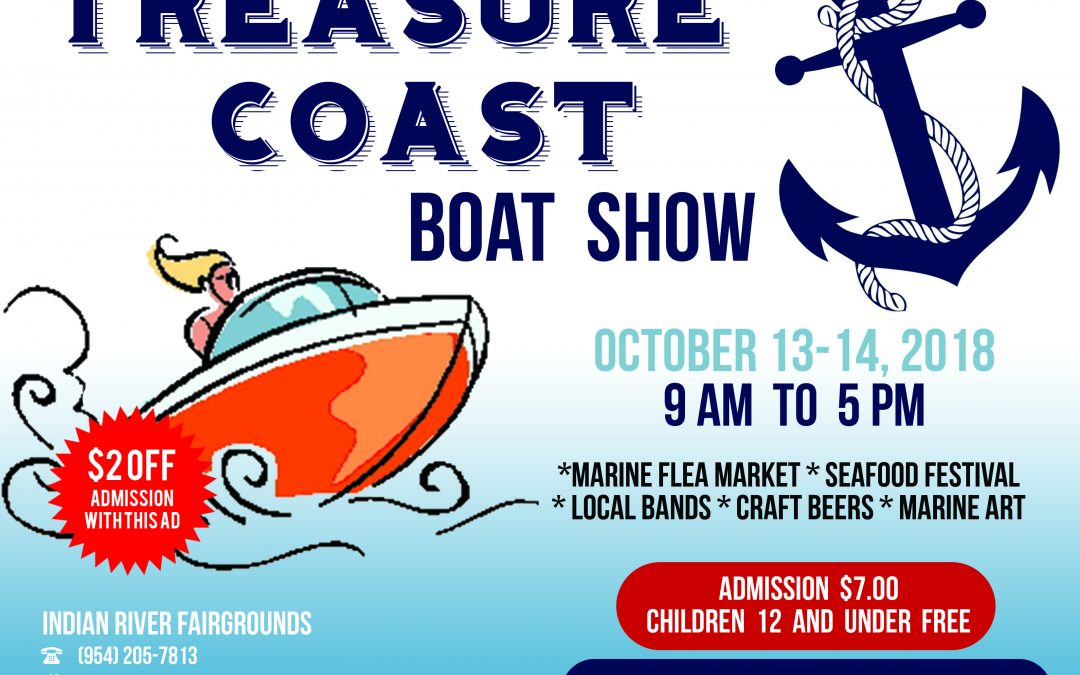 Treasure Coast Boat Show Coming in October