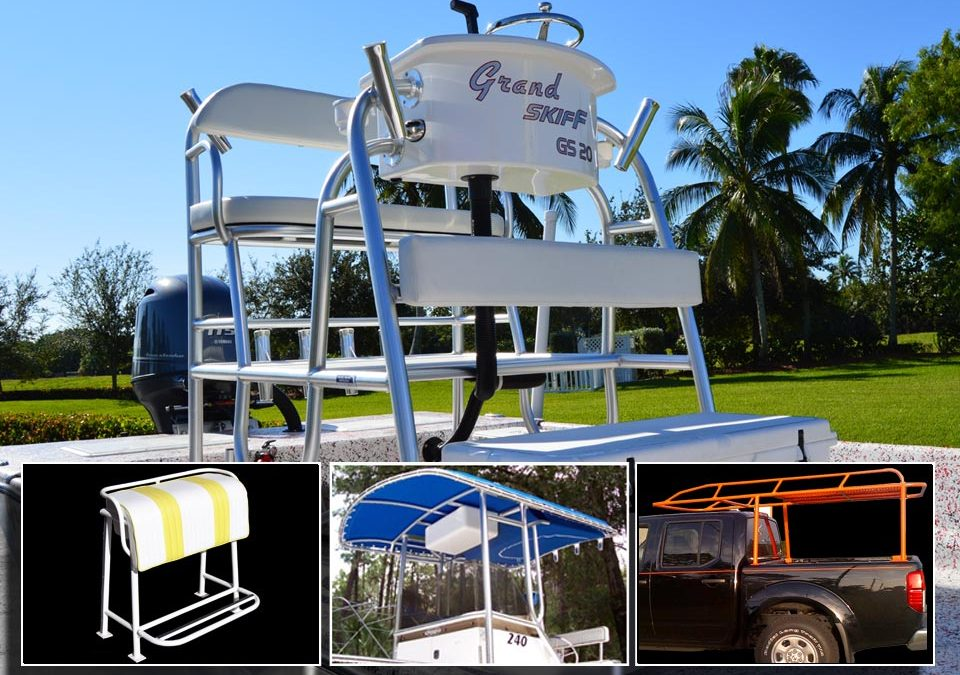 Florida's finest T-Tops are fabricated here, in Citrus County Florida!