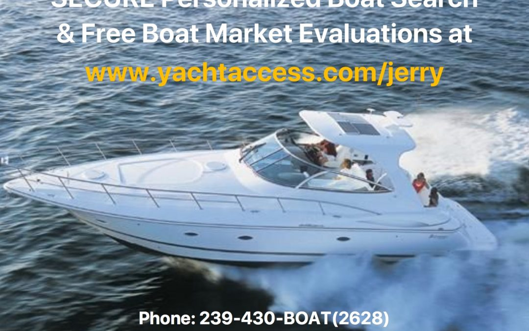 Free Personalized Boat Search and Boat Market Evaluations