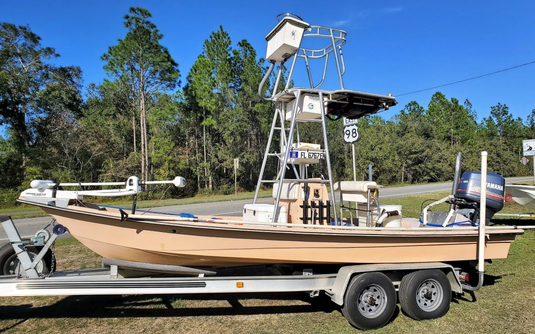 Shoalwater 22V – Center Console