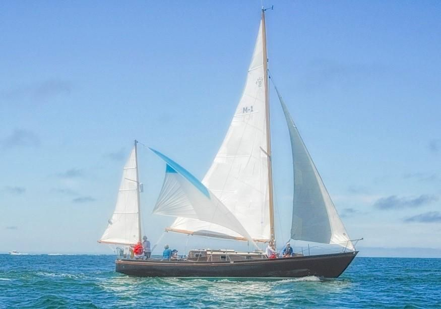 "2009 40Ft CUSTOM  PEASE  BROTHERS  BOAT  WORKS YAWL    ""STARRY NIGHT""   $115,000"