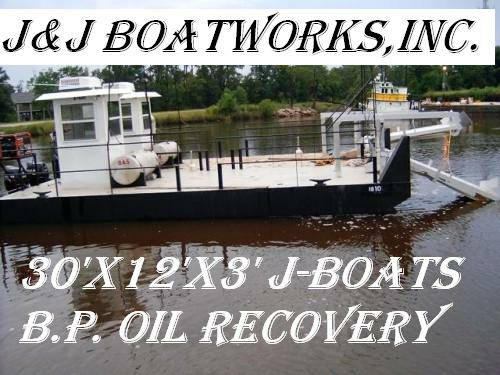 30′ Barge ***** Great material shuttle barge – $32,000(30'x12'x3′)