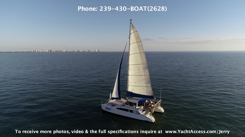 2007, 33' SEAWIND 1000 SAILING CATAMARAN For Sale